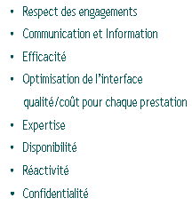 Respect des engagements